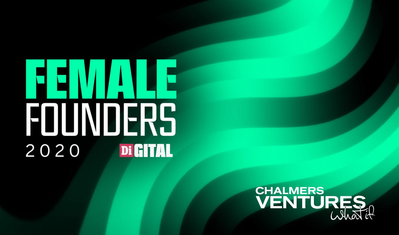App Di Design chalmers ventures ny partner till female founders - en del